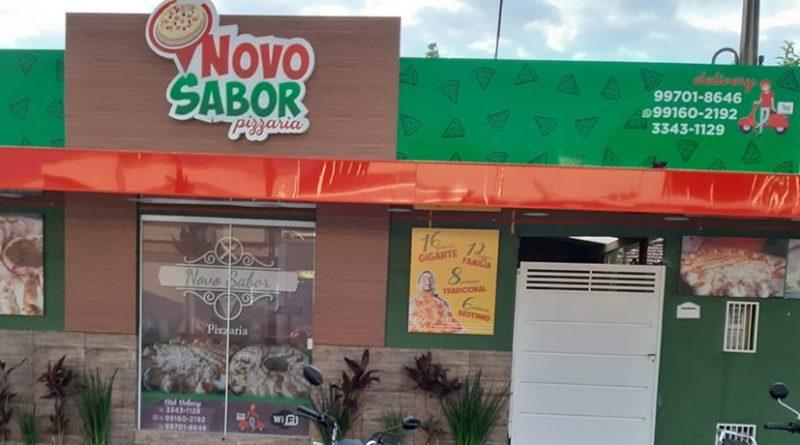 IBATÉ-Pizzaria Novo Sabor, qualidade, bom atendimento e o melhor preço