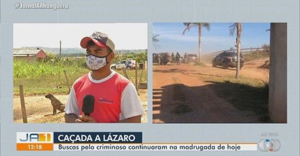 Lázaro invadiu fazenda vizinha, roubou queijo, carregador de celular, R$ 30 e fugiu, diz morador